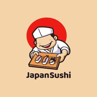 Sushi japão restaurante de frutos do mar asiático