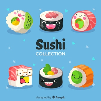 Sushi kawaii collectio