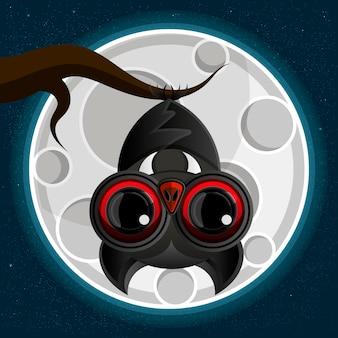 Suspensão de morcego-vampiro