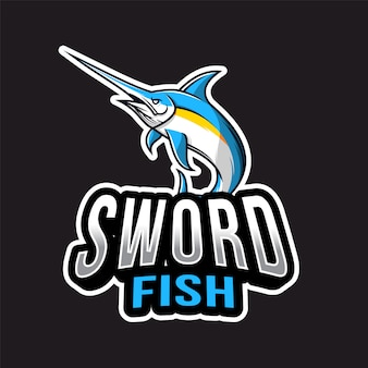 Swordfish esport logotipo