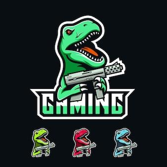 T rex logo gaming