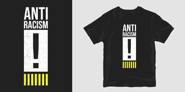 T-shirt anti-racismo