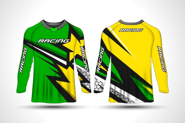 T-shirt de manga comprida camisa de moto esporte