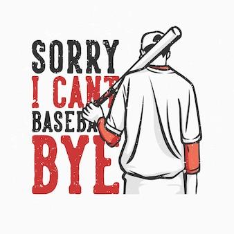 T-shirt design slogan tipografia desculpe, eu não consigo me conter