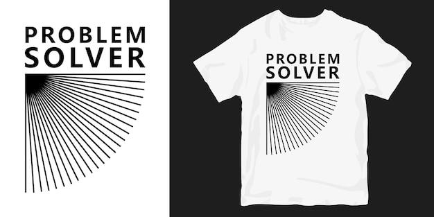 T-shirt do solucionador de problemas
