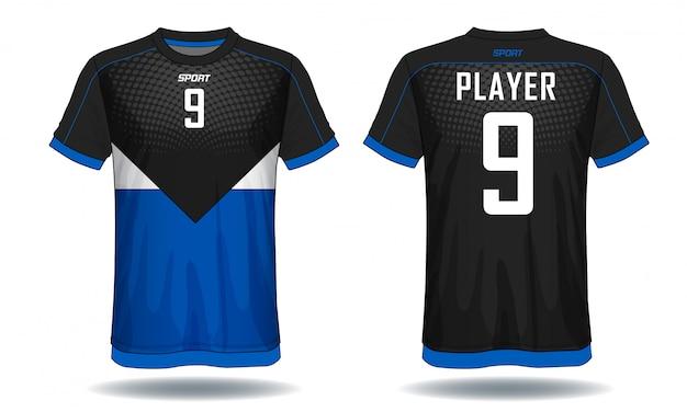 T-shirt esporte camisa de futebol