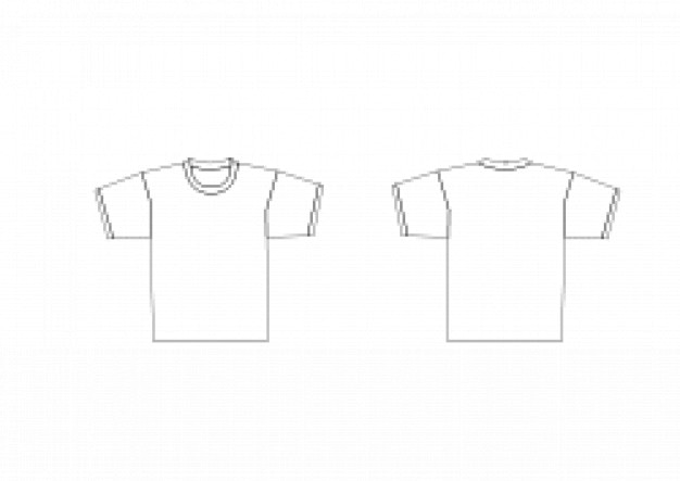 T-shirt modelo