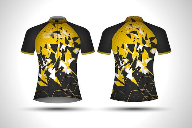 T-shirt sport camisa de ciclismo para mulheres
