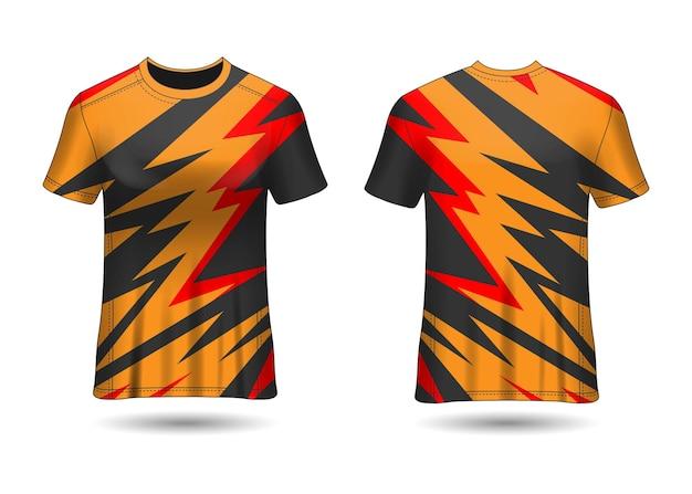 T-shirt sport design racing vector
