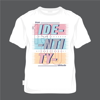 T-shirt urbano do vintage