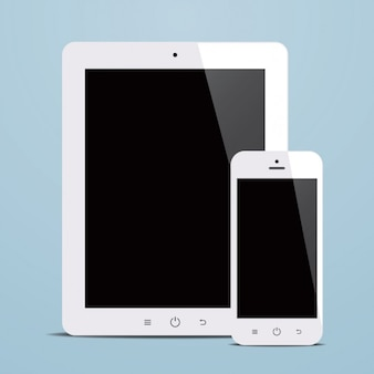 Tablet e design do telefone móvel