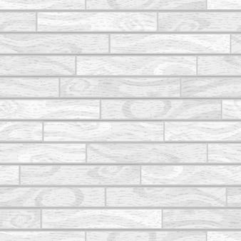 Tábuas de madeira brancas com textura, parquet sem costura padrão