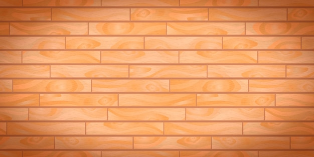 Tábuas de madeira realistas bege com textura