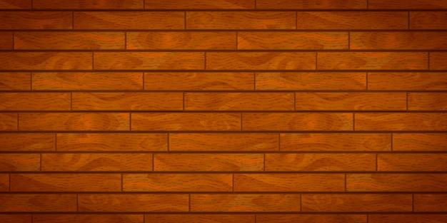 Tábuas de madeira realistas marrons com textura