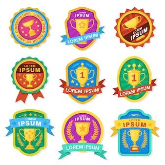 Taças de troféu