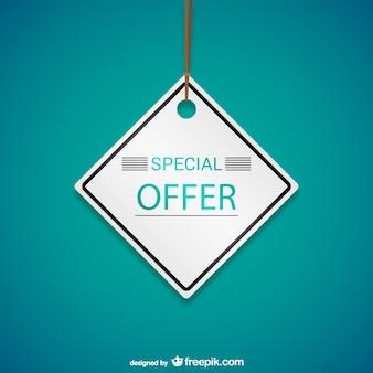 Tag oferta especial!