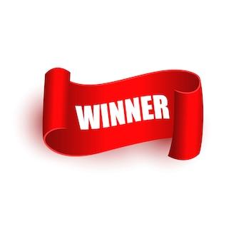 Tags vencedoras ou faixa de rolagem