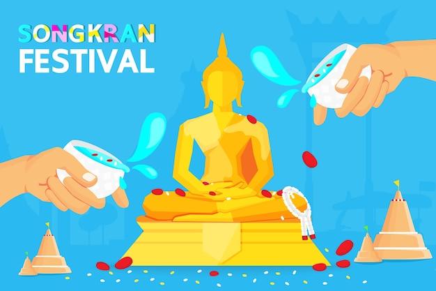 Tailândia songkran festival
