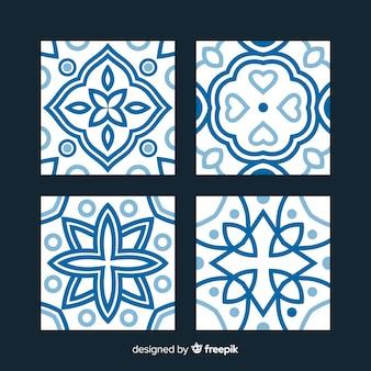 Talavera conjunto de azulejos