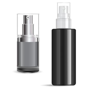 Tampa de prata para frasco de spray de soro