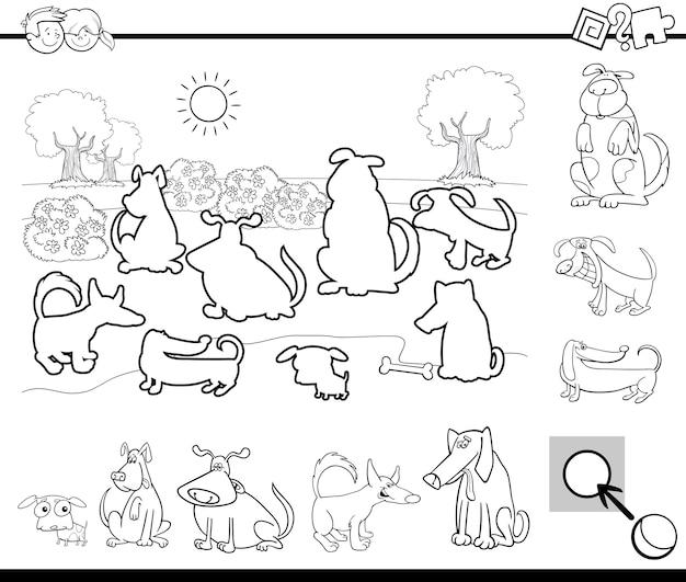 Tarefa educacional para colorir