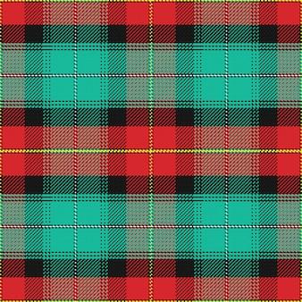 Tartan escocês sem costura padrão ilha do príncipe eduardo