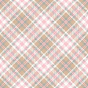 Tartan escocês sem costura xadrez padrão