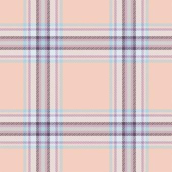 Tartan escócia sem costura padrão xadrez vector. tecido de fundo retrô. textura geométrica quadrada de cor vintage cheque.