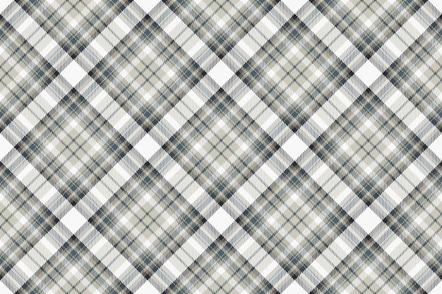 Tartan escócia sem costura padrão xadrez vector. tecido de fundo retrô