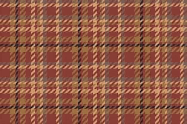 Tartan escócia sem costura padrão xadrez vector.