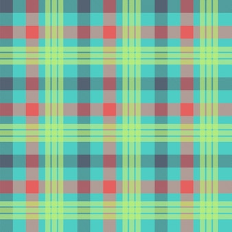 Tartan multicolor sem costura de fundo