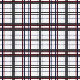 Tartan padrão sem costura fundo de tela. padrão de xadrez de textura quadriculada.