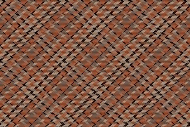 Tartan xadrez escocês sem costura padrão