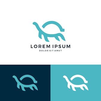 Tartaruga logotipo ícone do vetor download