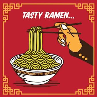 Tasty ramen noodle