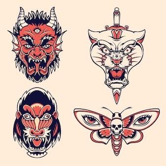 Tatuagem da velha escola