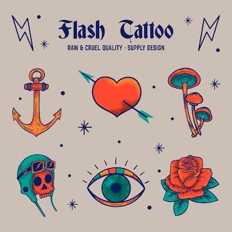 Tatuagem em flash