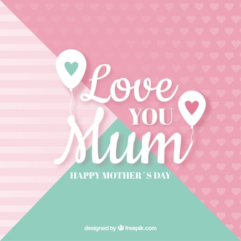 Te amo fundo mãe