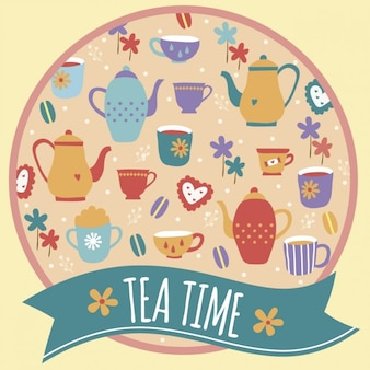 Tea time fundo