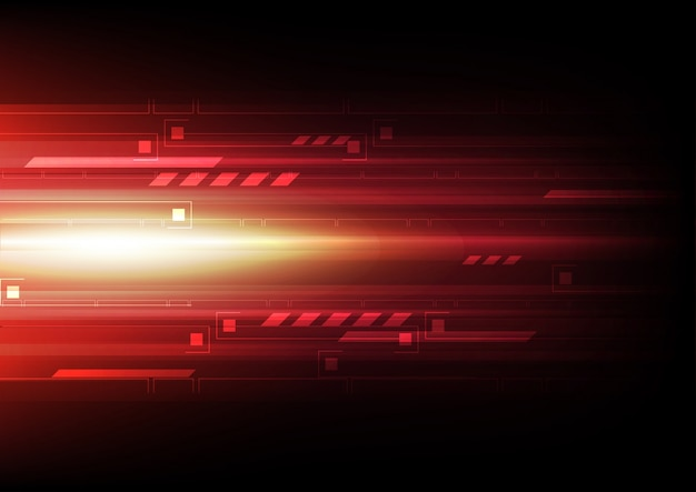 Tech signal speed abstract background