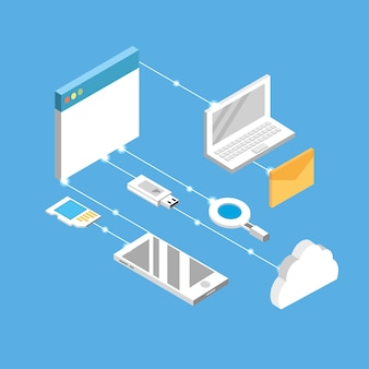 Technogies com serviços de dados conecction