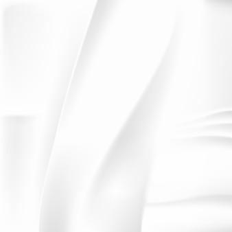 Tecido amassado branco