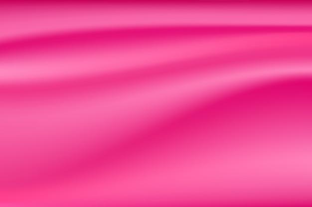 Tecido de seda rosa acetinado