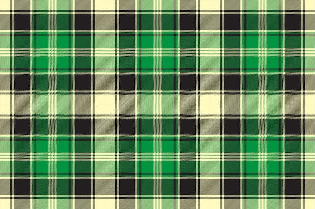 Tecido diagonal verde textura tartan sem costura padrão