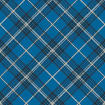 Tecido textura azul seleção xadrez seanless padrão