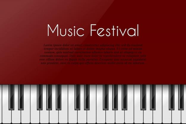 Teclado de piano