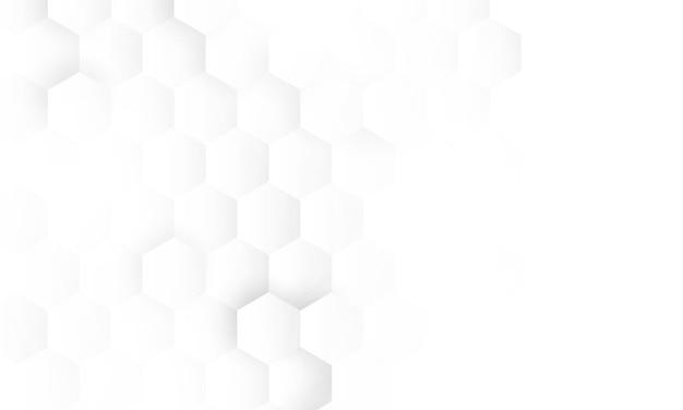 Tecnologia abstrata de concepção de conceito de hexágono