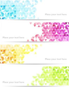 Tecnologia abstrata em cores