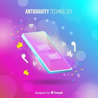 Tecnologia antigravidade com elemento