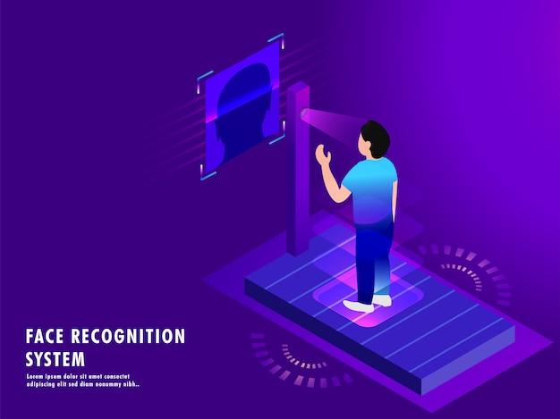 Tecnologia biométrica futurista